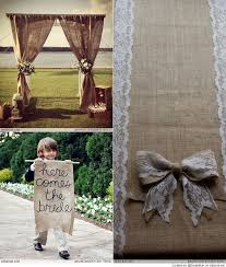 burlap wedding ideas best 25 burlap wedding arch ideas on rustic wedding