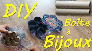 creation avec des rouleaux de papier toilette diy boîte à bijoux en rouleaux de sopalin youtube