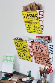 bureau des immatriculations license plate wall organizer orange ideas originals