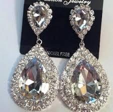 boucle d oreille mariage boucles d oreilles argenté au royaume du bijou