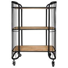 savoy 3 tier kitchen trolley freedom furniture and homewares