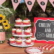 cupcake displays outdoor bbq cupcake display idea gingham picnic food and drink