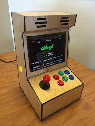 Tabletop Arcade Cabinet I Made A Proper 4 3 Bartop Arcade Cabinet With An Old Ipad Lcd And