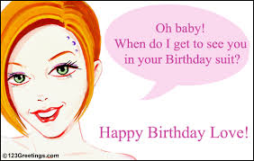 birthday wish for your love free just for him ecards greeting