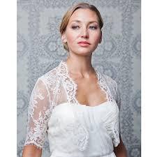 elle u0026 jae bridal accessories 3 4 sleeve ivory lace bridal cover up