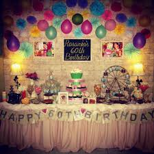 60 year birthday ideas 60th birthday party decorations home design 2017