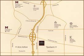 Ann Arbor Michigan Map by 2455 Carpenter Rd Ann Arbor Mi Ann Arbor Regent Hotel