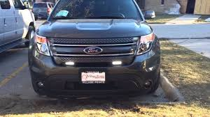 2015 ford explorer interior lights oracle wireless switch led driving lights 2015 ford explorer youtube