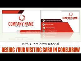 Design Visiting Card Learn How To Design Visiting Card In Coreldraw Youtube