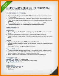 functional resume example 9 samples in word pdffunctional