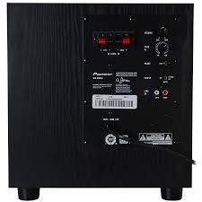 powered home theater subwoofer restocked pioneer sw 8mk2 100w 8