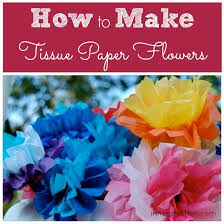 How To Make Mexican Paper Flowers - 34 best flores images on pinterest parties tissue paper flowers