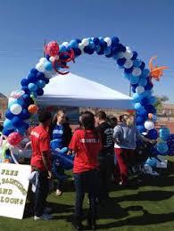 balloon delivery manhattan s day balloon centerpiece balloon centerpieces