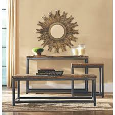 Home Decorators Collection Canada Loon Peak Somers 48w Reclaimed Woodmetal Coffee Table Reviews 48