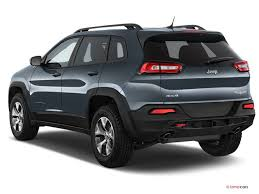 jeep cherokee back 2018 jeep cherokee pictures angular front u s news world report