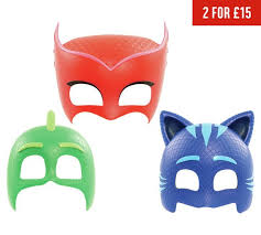 buy pj masks role play character masks assortment argos uk
