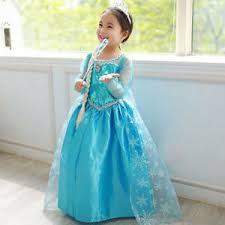 elsa frozen dress for baby kids birthday party dresses 7 9