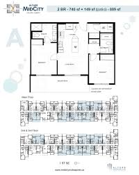 floor plans midcity