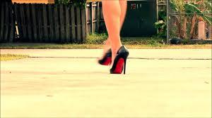 high heels walk christian louboutin pigalle black youtube