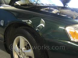 mazda car cost paintless dent repair before and after pictures dentworks of austin