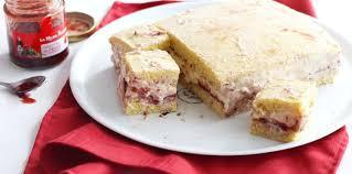 jeux de aux fraises cuisine gateaux gâteau crémeux à la vanille et à la fraise pas cher recette sur