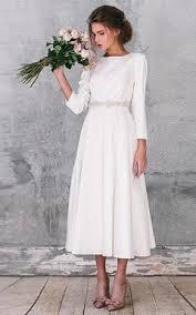 Wedding Dresses Cheap Cheap Mid Length Bridals Dresses Tea Wedding Dress Cheap June