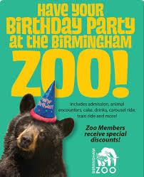 birthday parties birmingham zoo