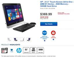 best black friday pc deals 11 black friday deals for hp pavilion all in one pcs with windows