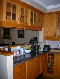 Short Double Sided Glass Kitchen Cabinets Google Search - Kitchen hanging cabinet