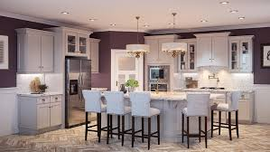 Buy Shaker Light Gray RTA Ready To Assemble Kitchen Cabinets Online - Light colored kitchen cabinets
