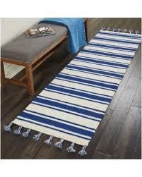 Navy Blue Runner Rug Winter Shopping Deals On Nourison Solano Ivory Navy Blue Runner