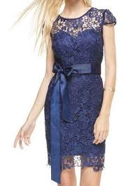 navy lace ribbon cap sleeve navy blue lace dress with ribbon belt hattie s branches