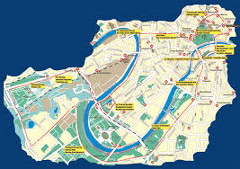 Moscow Russia Map Moscow Bus Tour Map Moscow U2022 Mappery