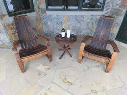 Whiskey Barrel Chairs Buy A Handmade Lillian Wine Whiskey Barrel Adirondack Chair