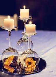 12 wedding centerpiece ideas from pinterest wine glass wedding
