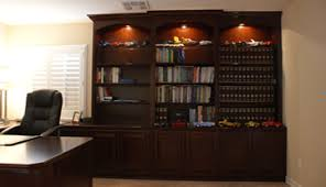 Custom Home Office Cabinets In Custom Home Office Cabinets And Built In Desks Platinum Cabinetry