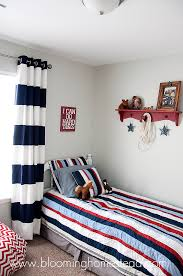 How To Do A Bedroom Makeover - boy bedroom reveal blooming homestead
