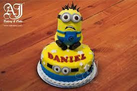 minions birthday cake minions birthday cake picture of aj bakery cake jakarta