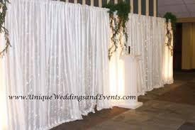 backdrops for weddings wedding backdrop draping oklahoma city wedding unique weddings