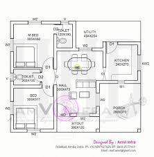 home design dimensions kerala house design with floor plan and dimensions house plan