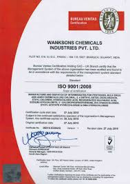 bureau veritas mumbai office wanksons chemical industries pvt ltd