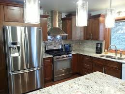sienna shaker kitchen makeover a kitchen remodel for under