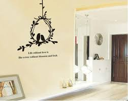 tree vines birdcage wall art mural decal sticker quote material pvc size pack one piece wall decal
