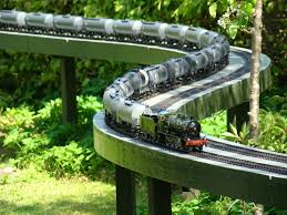 garden railway layouts danish group the gauge one model railway association