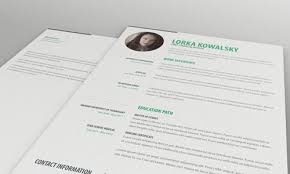 free simple resume template 84 best free creative resume templates