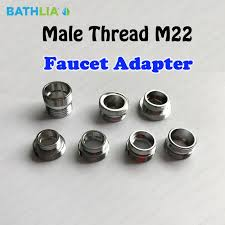 Faucet Attachment For Hose Aliexpress Com Buy Male Thread M22 Universal Shower Hose Adapter