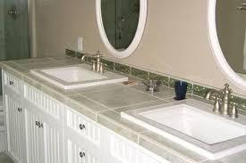bathroom tile countertop ideas tile bathroom countertops home interior ekterior ideas
