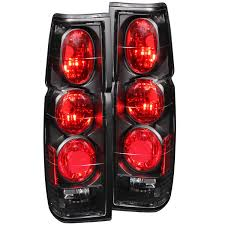 nissan pickup 1997 anzo usa nissan hardbody 86 97 tail lights black g2 euro tail