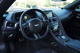 aston martin sedan interior 2018 aston martin db11 v8 review autoguide com news
