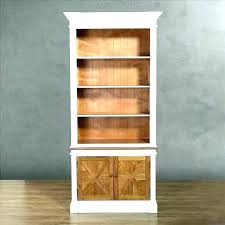 Wood Bookcase With Doors Wood Bookcases With Doors Bookcases With Glass Doors Solid Wood